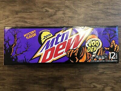 1x 12oz 12pk Mountain Dew Voodew in Hand Voodoo Limited Edition !!! SOLD OUT !!!