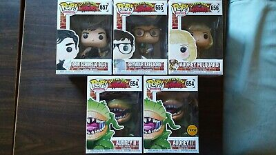 5 set LITTLE SHOP HORRORS Audrey II  Seymour Orin audrey chase NEW funko pop