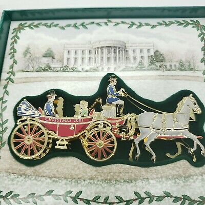 The White House Historical Association, Christmas 2001 Ornament
