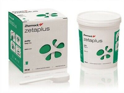Zhermack Zetaplus C Silicone Impression Material - Putty - 900Ml Base Only