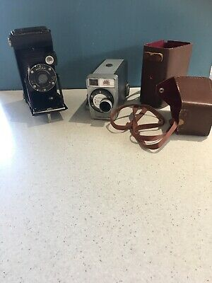 Vintage Kodak Collection Brownie And Junior