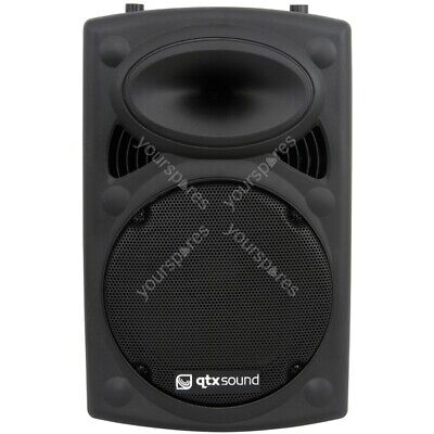 QTX QR Series Passive Moulded PA Speaker Boxes - QR12 ABS 12in