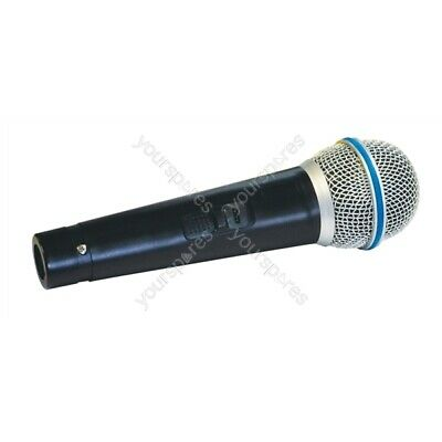 Mr Entertainer Dynamic Handheld Karaoke Microphone With Lead 600 Ohm