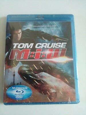 blu-ray tom cruise mission impossible 3 edition collector NEUF SOUS CELLO