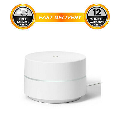 Google Wifi System for Whole Home Coverage Single Pack Router Replacement