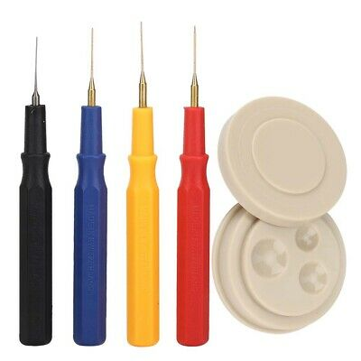 Set of 4 Watch Oil Needle Pins Watchmakers Oiler Pot Cup for Watch Repair Tools