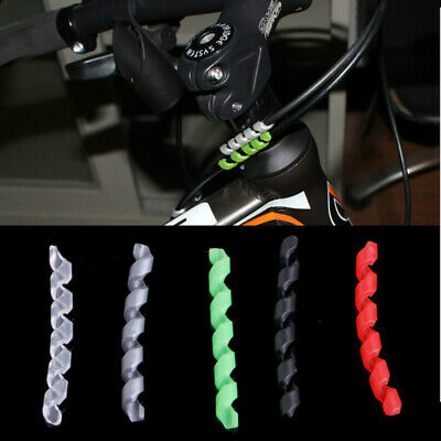 EB_ 5x Protection Bike Bicycle Cable Protector Shift Brake Line Pipe Sleeve Surp