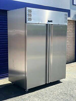 Commercial Williams Jade Double Door Upright Fridge 1295Ltr HJ2-SA