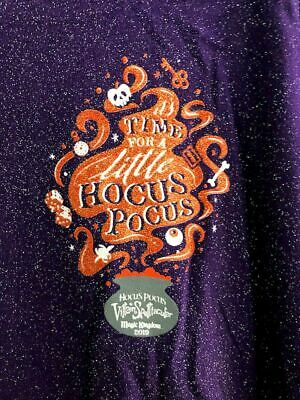 Disney Parks Halloween Party 2019 Hocus Pocus Spirit Jersey Size MEDIUM NWT