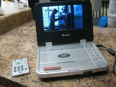 Mustek MP72 Portable DVD Player Bundle with Remote Control