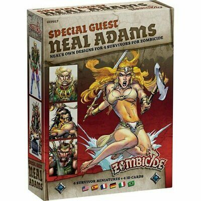 Zombicide Black Plague: Special Guest Neal Adams, New by CMON Multil.