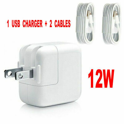 12W USB Wall Charger Power Adapter For Apple iPad Mini 2 3 4 Air iPhone 5 6 7 8