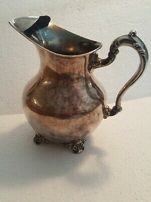 Vintage Poole Old English EPC 5008 Footed Water Pitcher