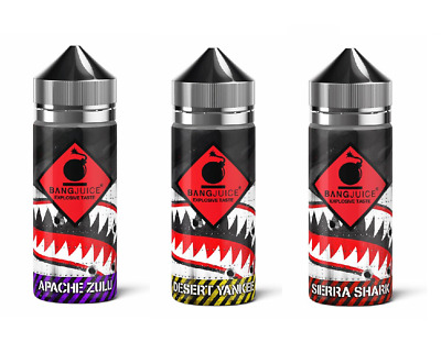 BangJuice DIVISION Aroma 30 ml, 120 ml Flasche Shake and Vape