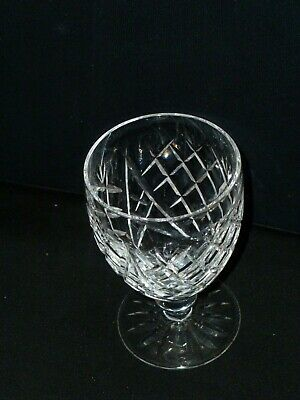 """Waterford Crystal """"Donegal"""" Water Goblet Old Mark 5 1/4"""" Tall"""