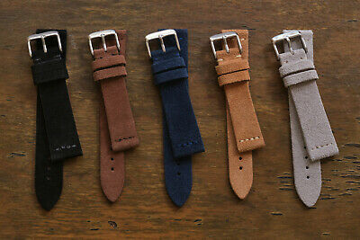 Suede Replacement Vinatge Watch Strap