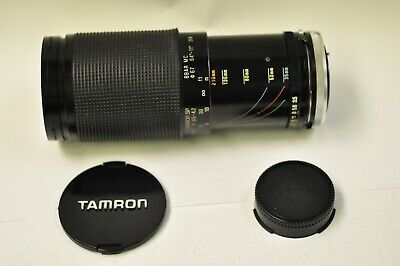 Tamron 35-210mm f3.5-4.2 manual focus macro zoom lens w/Canon FD mt. & caps