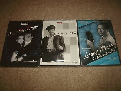 TCM Turner Classic Movies DVD LOT Hollywood Story Souls at Sea Johnny Mercer NEW