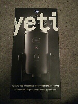 Blue Yeti Ultimate USB Professional Recording Microphone - Blackout