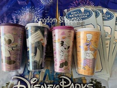 Disney Epcot Food Wine 2019 Remy Scavenger Hunt Four Cups Mickey Minnie Figment