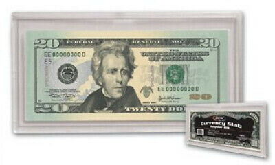 BCW Deluxe Currency Slab Regular Bill - Dollar / Currency Collecting Supplies