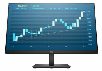 "HP 24"" Inch ProDisplay P244 LCD/LED Computer Monitor Display VGA/HDMI/DP 5QG35AA"