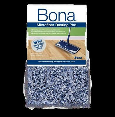 Bona Microfibre Dusting Cleaning Pad Refill For Wooden Hard Floors