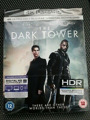 The Dark Tower (4K Ultra HD + Blu-ray + Download) Brand new sealed