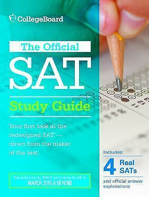 The Official SAT Study Guide, 2016 Edition by The College Board