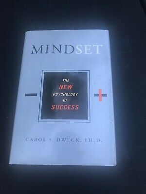 Mindset : The New Psychology of Success by Carol S. Dweck RARE OOP HARDCOVER VG
