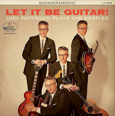 Joel Paterson Let It Be Guitar!  Paterson Plays  Beatles Cd Album New (20Thsep)