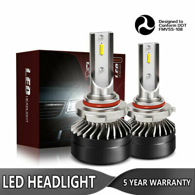 TURBOSII 9006 HB4 LED Headlights Bulb Kit Low Beam DOT 12000LM 6000K White DT78