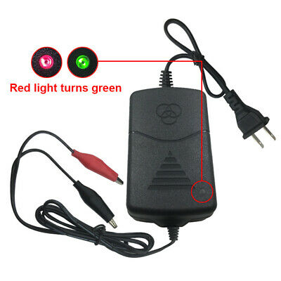 New 12V Battery Charger Maintainer Amp Volt Trickle for Car Truck Motorcycle GO