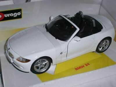 WELLY BMW Z4 WHITE WITHOUT ROOF 1:34 DIE CAST METAL MODEL NEW IN BOX