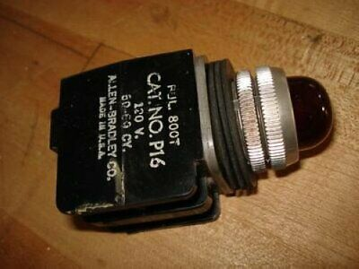 Allen Bradley 800T P16 120VAC Red Pilot Indicator Light