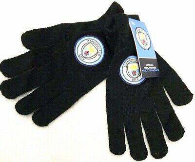 Manchester City Gloves Official Football Club Gifts