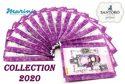 Santoro London Gorjuss Raccolta Panini 15 Bustine Figurine Sticker Raccolta 2020