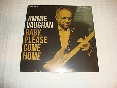 Jimmie Vaughan Baby, Please Come Home LP Sealed