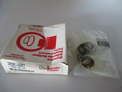 Parker Schrader Bellows 309018001 Brass Seal Kit new