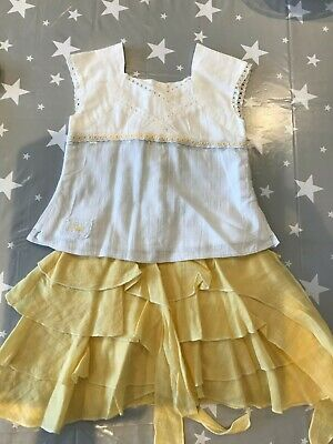 Sulk Girls Matching Top & Skirt Outfit Age 4 Years in Excellent condition