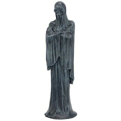 "12"" Haunted Harbinger of Doom Shrouded Silence Angel of Death Grim Reaper Statue"
