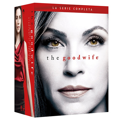 STV *** THE GOOD WIFE - Boxset Stagioni 1-7 (42 Dvd) *** sigillato