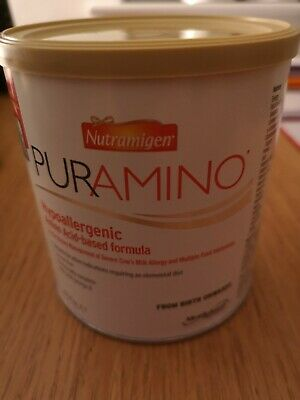 Puramino Hyopallergenic Amino Acid-Based Formula, Powdered Milk,Birth+ SEALED!