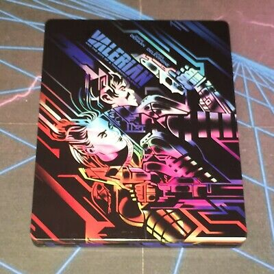 Valerian and the City of a Thousand Planets Bluray Steelbook