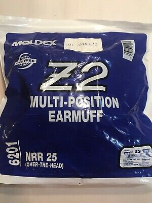 Lot of 23-Moldex Z2 Multi Purpose Earmuff 6201 NRR 25