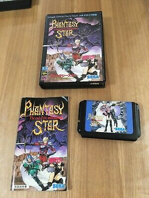Phantasy Star End Of The Millennium Sega Megadrive Mega Drive  Boxed Japan