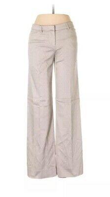 Emporio Armani Women Brown Dress Pants 4 MSRP $575
