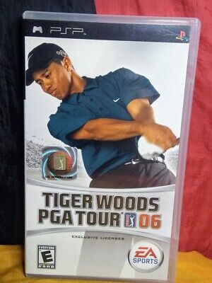 Tiger Woods PGA Tour 06 - Sony Playstation Portable PSP - Includes Manual