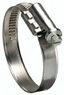 """Ideal Tridon 6728-1 Hose Clamp, Size 28, 1-1/4"""" to 2-1/4"""", 67-1 Type, Box of 10"""