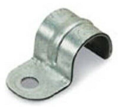 """Thomas and Betts 1211-C 1/2"""" Standard Pipe Conduit Strap, Box of 50"""